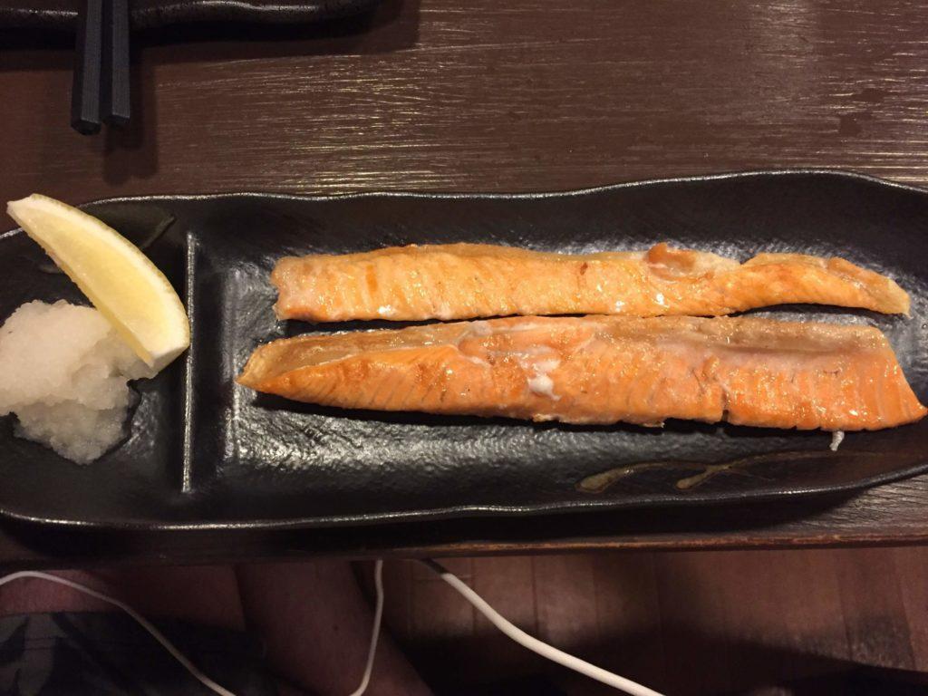 鮭 ハラス