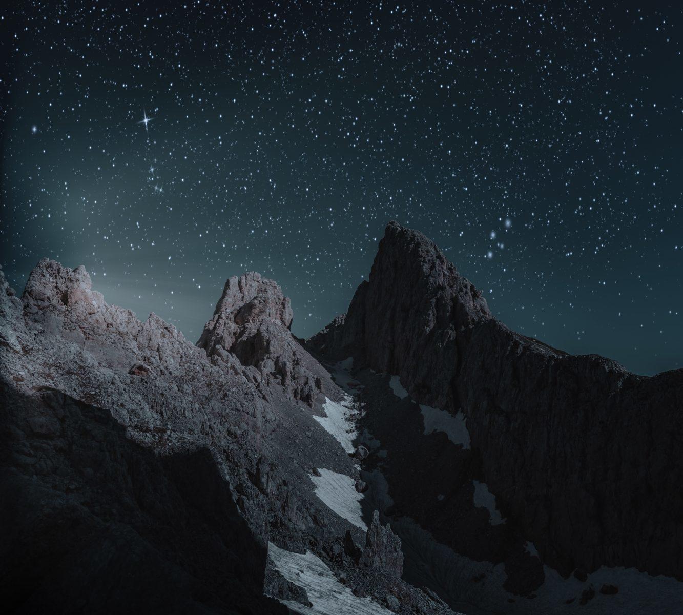 夜空の天体