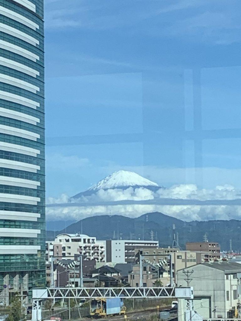 東静岡駅 富士山