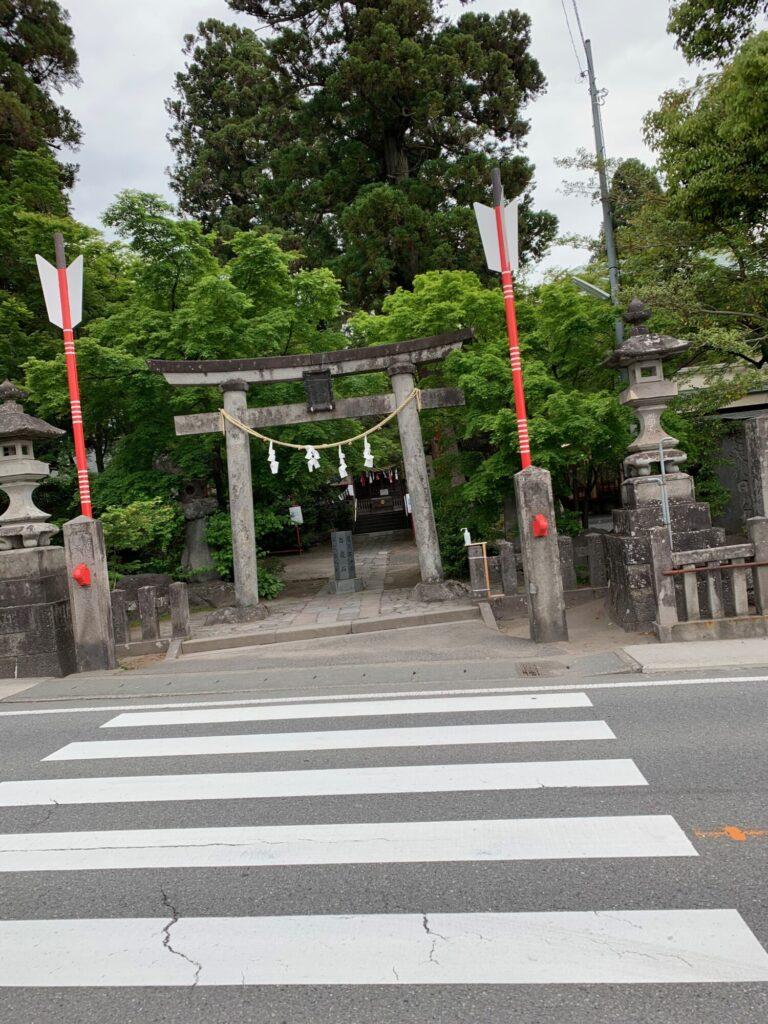 渋川八幡宮1